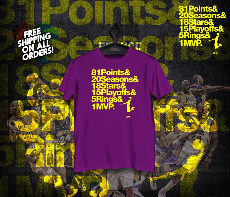 #JustSold Kobe Bryant Shirt Retirement Stats Helvetica Honor Roll Call TShirt Black Mamba Farewell NBA Basketball Shirt