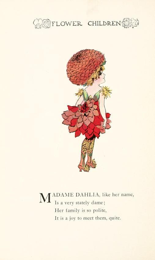 1910 - Flower children; the little cousins of the field and garden by Gordon, Elizabeth, 1866-1922