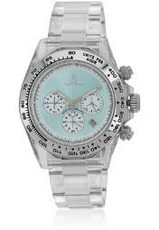 Toy Watch W Tw7005lblp Transparent/Blue Chronograph Watch Online Shopping Store