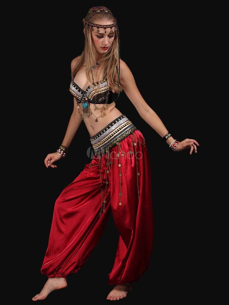 Suite la danse du ventre de femme fabuleuse avec ceintures de smoking-No.2
