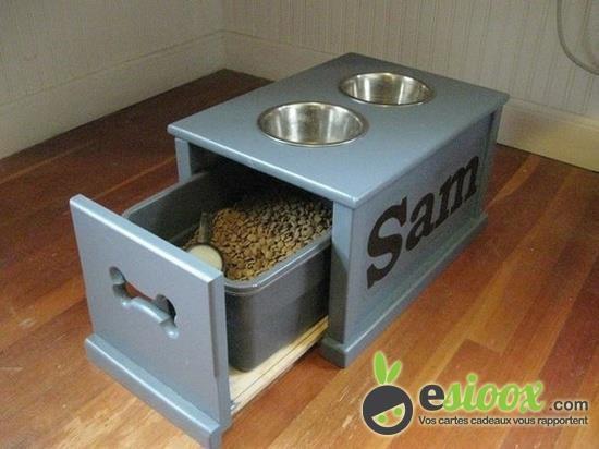 Sioux ou pas Sioux!  Pratique la gamelle et le stockage alimentaire du chien? http://blog.esioox.fr/  Olivia