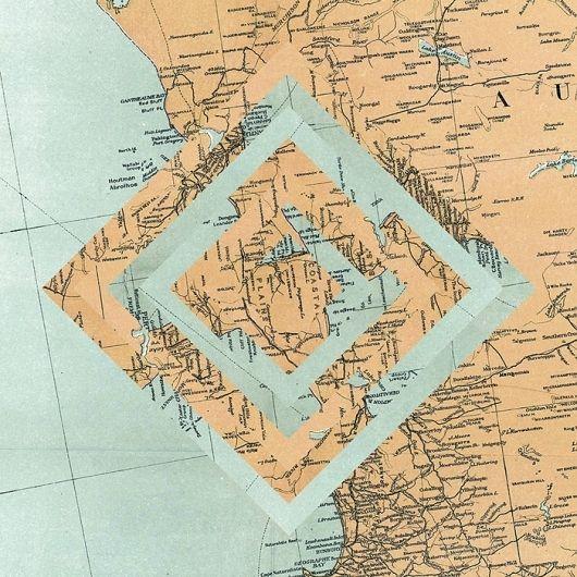 maps : LUIS DOURADO - rearranging