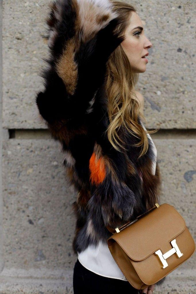 Hermes Bag ~fashion icon: Chiara Ferragni.