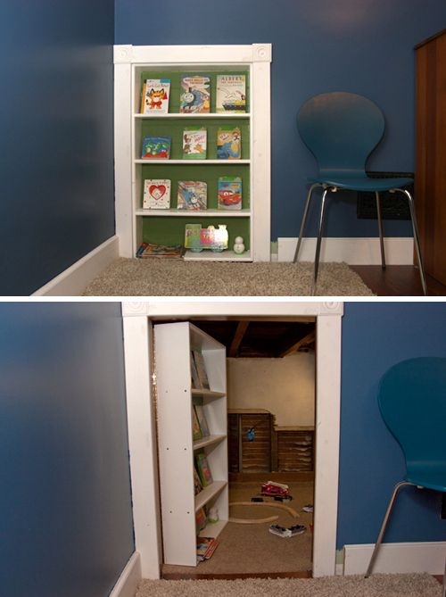Secret Kids Rooms - I so want to build the Little man one of these!