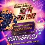 Happy New Year 2014 Hindi Movie Official Trailer Download Movie: Happy New Year 2014. Starring: Shahrukh Khan, Deepika Padukone, Abhishek Bachchan, Sonu Sood, Boman Irani, Vivaan Shah Directed by: Farah Khan Produced by: Gauri Khan Written by: Farah Khan Music by: Vishal Shekhar Edited by: Anand Subaya Distributed by: Yash Raj Films Country: India Language: Hindi