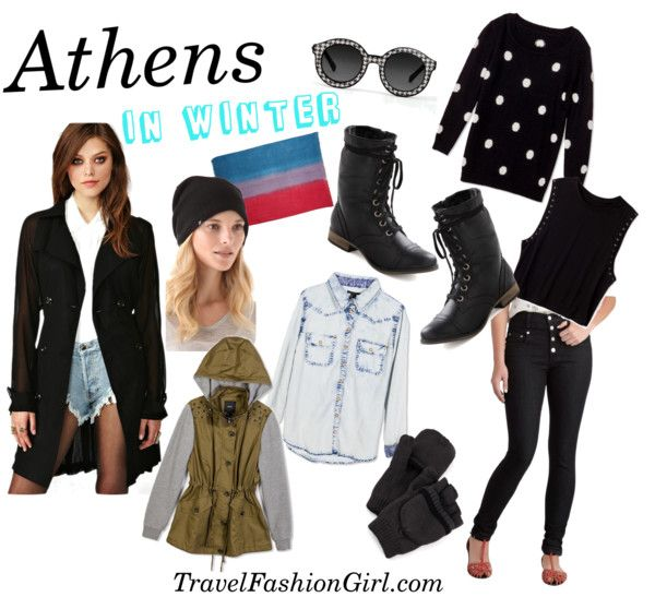 What to Pack for a Trip to Greece in Winter #travel #fashion #packinglist via TravelFashionGirl.com