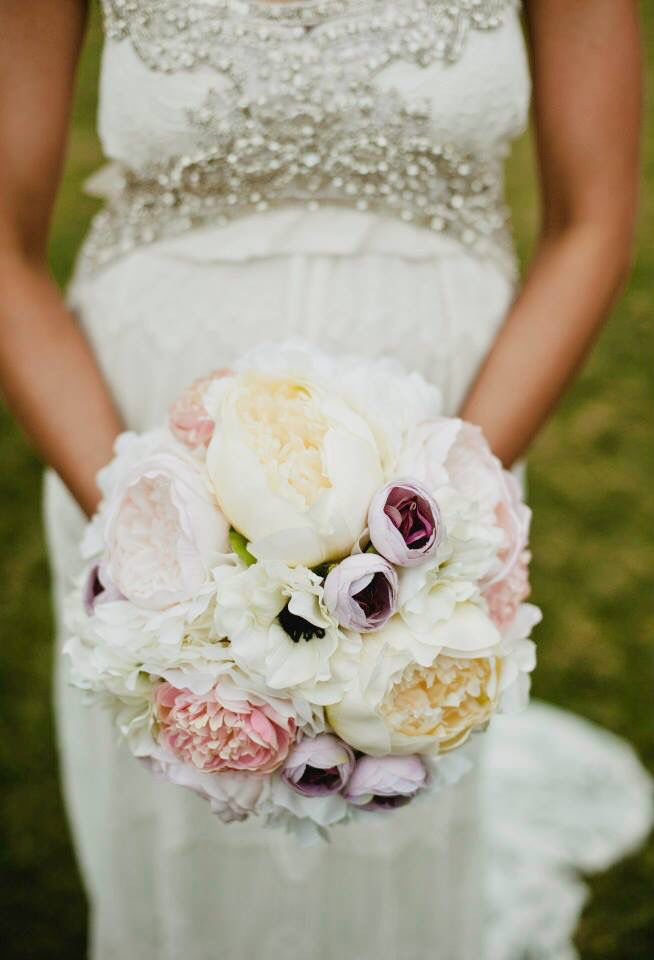 Loved our bouquets of peonies.