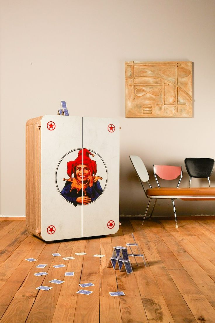 Jolly 3D #cardboard cabinet from #kubedesign XXL collection  cardboard #architectures
