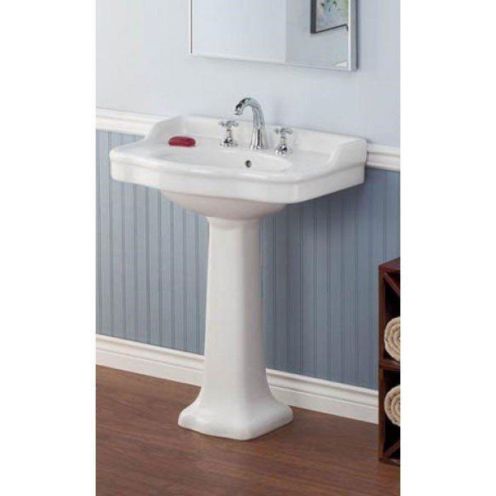 Antique Pedestal Sink Lavatory In 2020 Pedestal Sink Sink Wall