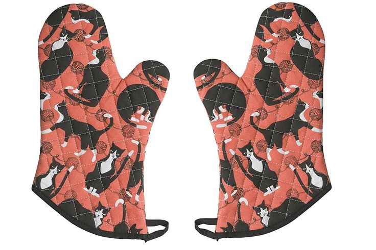 Now Designs Basic Oven Mitts, The Great Catsby, Set of 2 >>> Continue to the product at the image link.