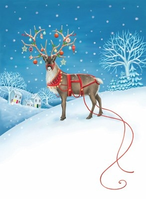 Reindeer by Kim Martin