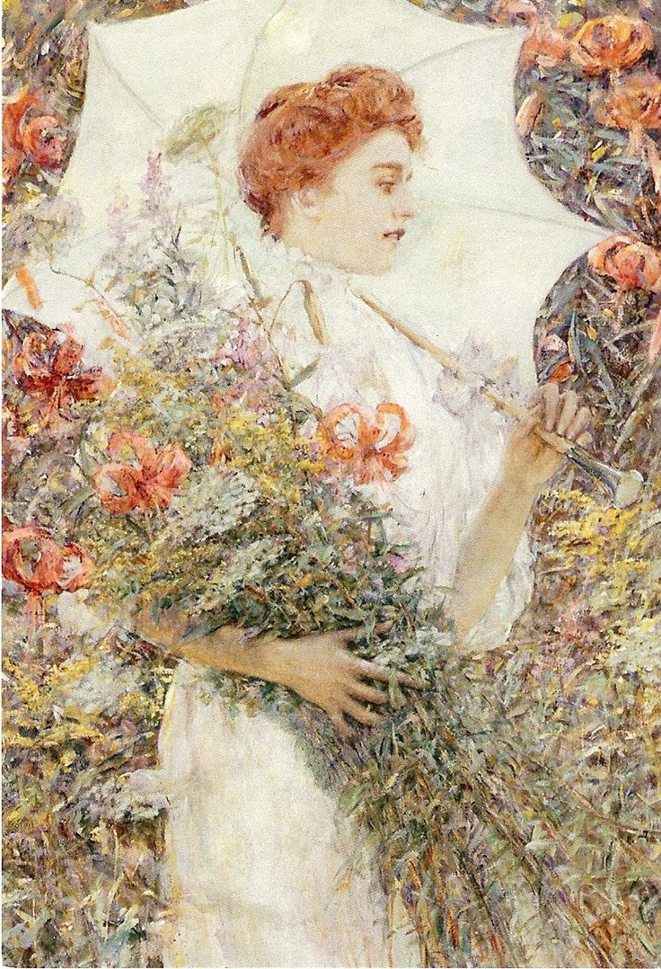 145 best Robert Lewis Reid images on Pinterest