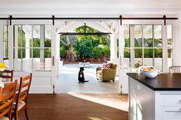 Barn Doors Meet the Modern Loft