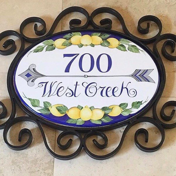 Excellent 116 best Personalized House sign, Address plaques images on  FY94