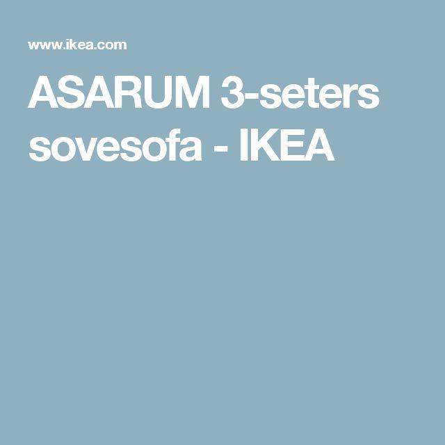 ASARUM 3-seters sovesofa   - IKEA