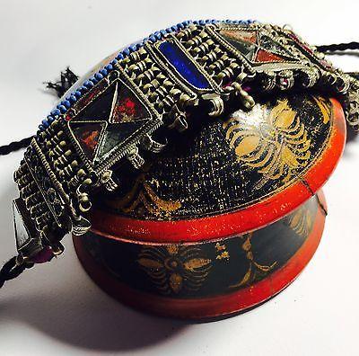 Collana Antica Specchietti ETNICO TRIBALE KUCHI AFGANO Lavorata A Mano   eBay