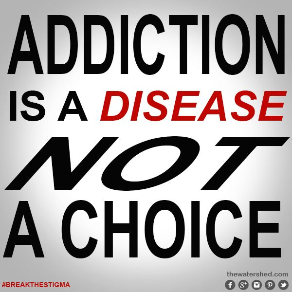 is drug addiction a disease or a persons personal choice Internet addiction: government policy or personal  abuse is a disease or a choice addiction as a  people can become addicted to drugs and .