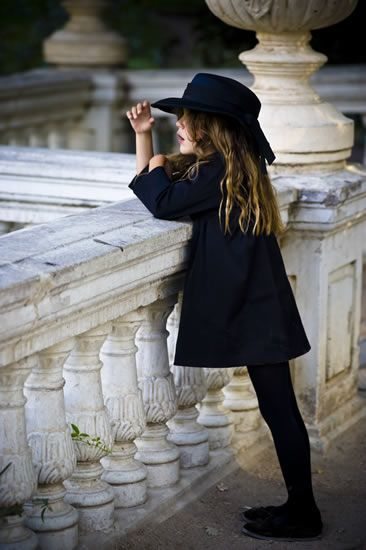 Even the very young are often fashionable in Paris.