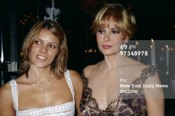 Raquel Welch and daughter Tahnee are present at Tavern on the Green for opening night party for the Broadway musical 'Victor/ Victoria.' Raquel stars in the show. (Photo by Richard Corkery/NY Daily News Archive via Getty Images)