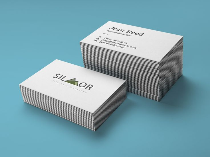 Stack Letterpress Business Card MockUp01