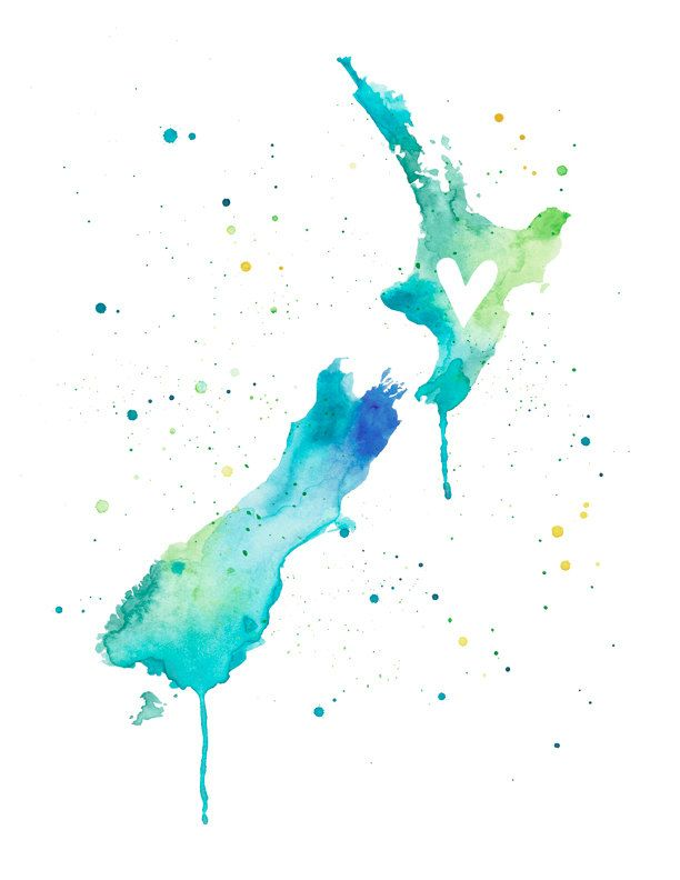 5x7 - New Zealand Love.