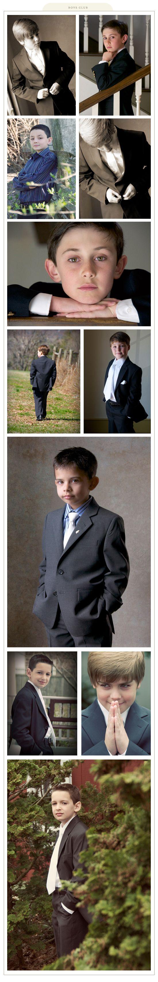 Boys' Communion Photos