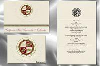 California State University, Northridge Graduation Announcements #graduation #announcements