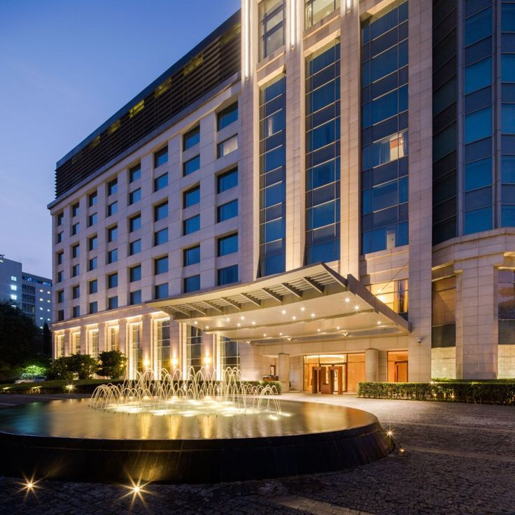 Park hyatt chennai landscape design by p landscape for Top design hotels deutschland