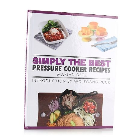 """Simply the Best: Pressure Cooker Recipes"" Cookbook: Pressure Cooking, Recipes Cookbook, Pressure Cooker Recipes, Cooker Recipes Books, Simply, Quick Recipes, Shops Lists, Wolfgang Puck, Products"
