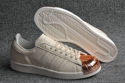 Adidas Superstar 80s Metal Toe Liquid Bronze Beige