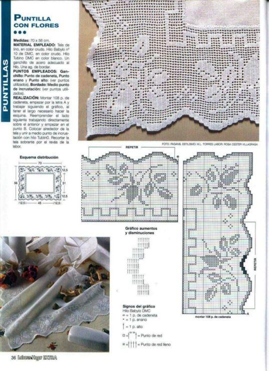 Gallery.ru / Фото #18 - Crochet Filet pour Point de Croix 1 - Mongia