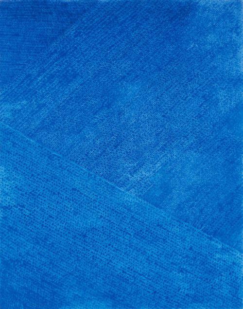 """thunderstruck9: """"Kim Whanki (Korean, 1913-1974), Untitled 27-VII-72 #228, 1972. Oil on cotton, 264 x 208 cm """""""