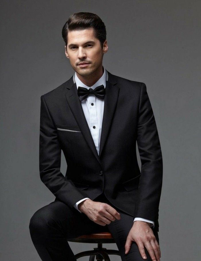 Costume pour homme - les dernières tendances en 50 photos! - Archzine.fr    Menswear   Formal wear, Tuxedo suit, Tuxedo 45fde5cda6b