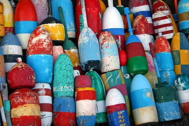 Some cool buoys in case that wants to work itself into the design