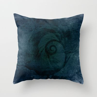 Afterlife Throw Pillow by Oscar Tello Muñoz - $20.00