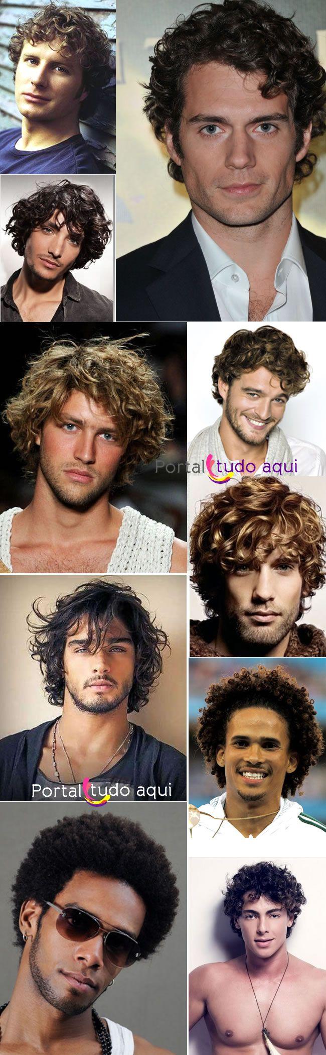 Os 6 melhores cortes de cabelo encaracolados para homens | Portal Tudo Aqui