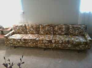 This Is The Longest Sofa Iu0027ve Ever Seen In A Home. I Think