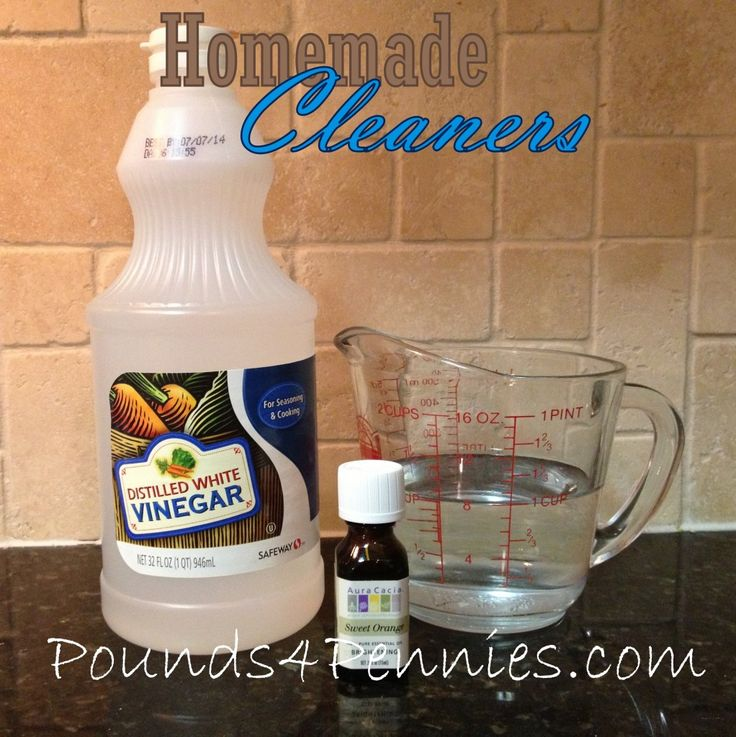 Homemade Mutlisurface Cleaner And Homemade Granite Countertop Cleaner. Natural  Cleaners To Make In A Few