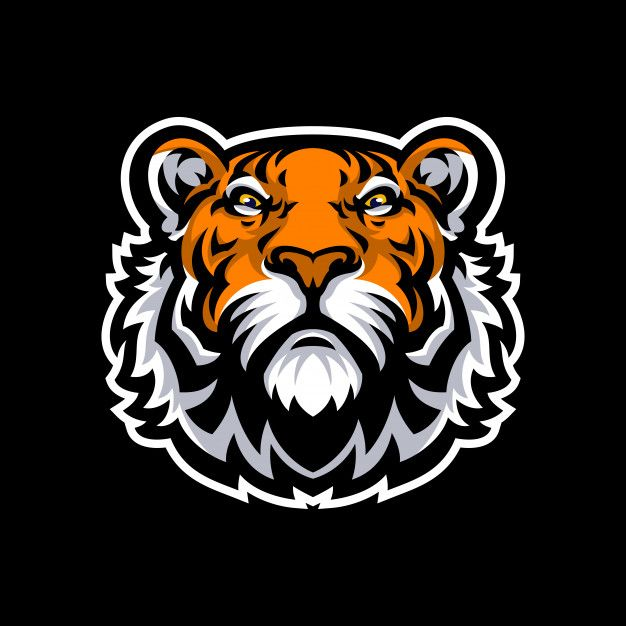 Tiger Mascot Logo Sport Premium Vector Premium Vector Freepik Vector Logo School Badge Nature Tiger Illustration Pet Logo Design Tiger Head Tattoo