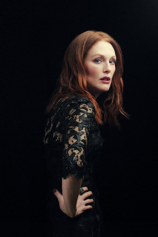Julianne Moore graces the February 6th 2015 issue of The Hollywood Reporter photographed by Miler Mobley