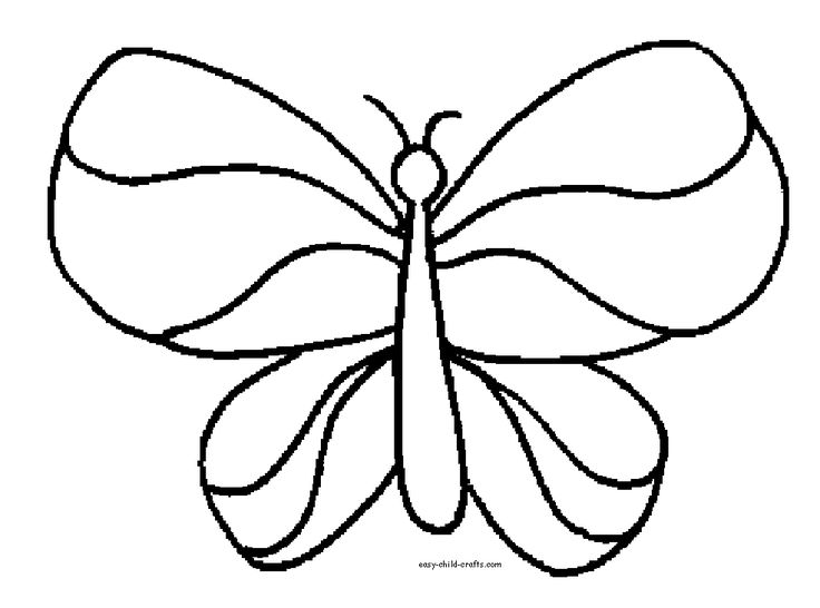 butterfly coloring pages - Coloring Pages Butterfly Printable