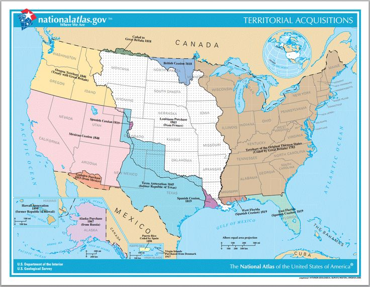 Territorial Acquisitions of the United States since 1783 Online