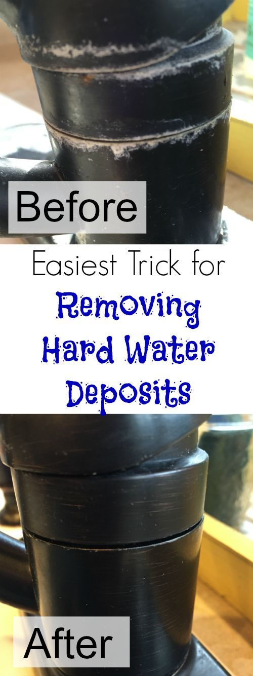 This cleaning trick is amazing! I never realized it was so easy to remove those nasty hard water deposits!