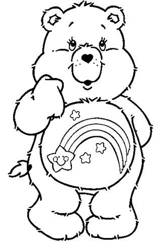 Care bear coloring pages google search