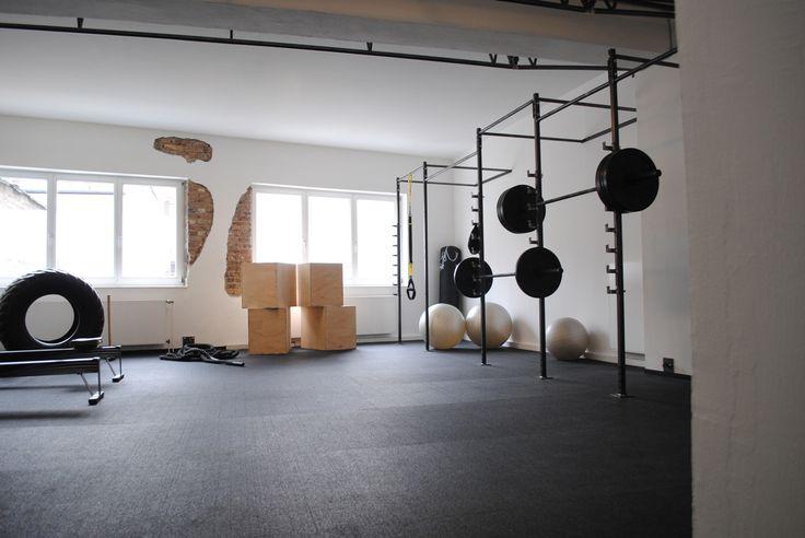 Fitnessstudio Köln, Einrichtung, Interior, Industrial chic
