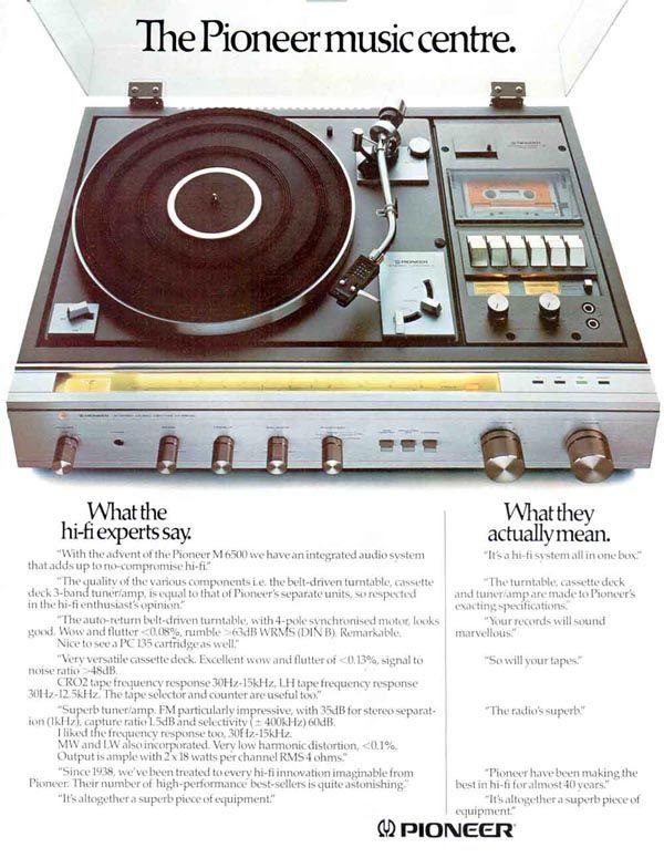 Pioneer Music Centre ad
