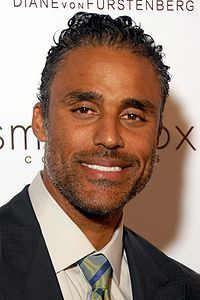 Black Canadians - Rick Fox; Canadian television actor and retired professional basketball player who last played for the NBA's Los Angeles Lakers in 2004. His father is Bahamian and his mother is Italian Canadian. was also married to actress/singer Vanessa L. Williams.