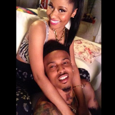 Rap-Up.com || August Alsina and Nicki Minaj Link Up in 'No Love' Video