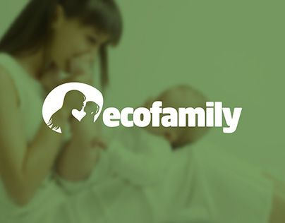 """Check out new work on my @Behance portfolio: """"Логотип Ecofamily"""" http://on.be.net/1LH0zH5"""