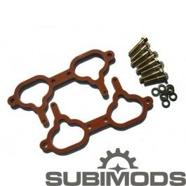 #2015_wrx_for_sale  Phenolic spacers have been used for years by many other specialized automotive companies, but this is very new technology to the Subaru world.    subimods.com